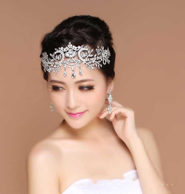 Wedding Accessories Bride Bridal Hair Crowns Tiaras Headpieces Forehead  Fascinators Jewelry 2016 Vintage Wedding Head Pieces Headwear on Storenvy cc5590f46ae