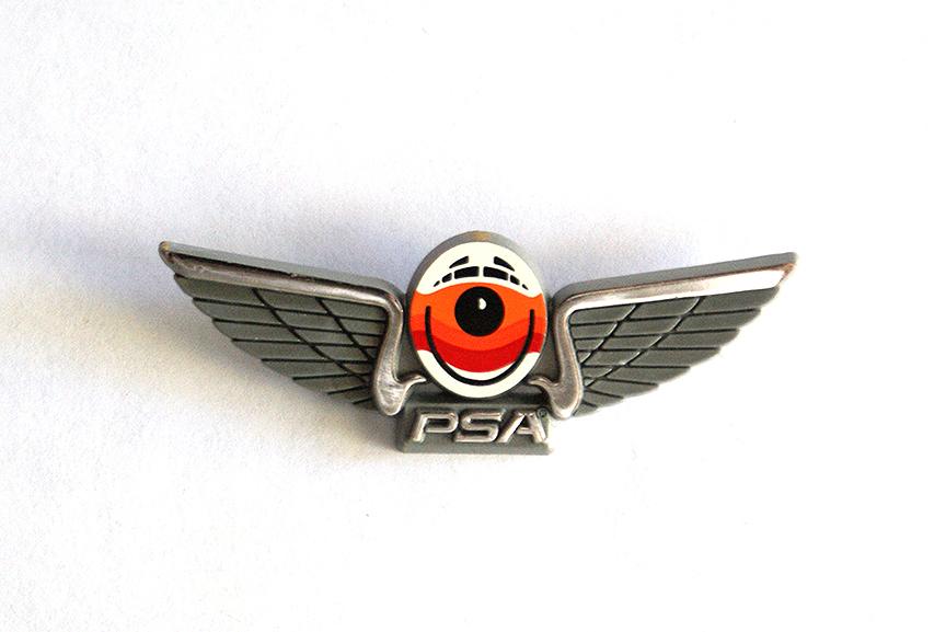 Vintage PSA Airlines Jr Pilot Wings - Pinback from Gate 72