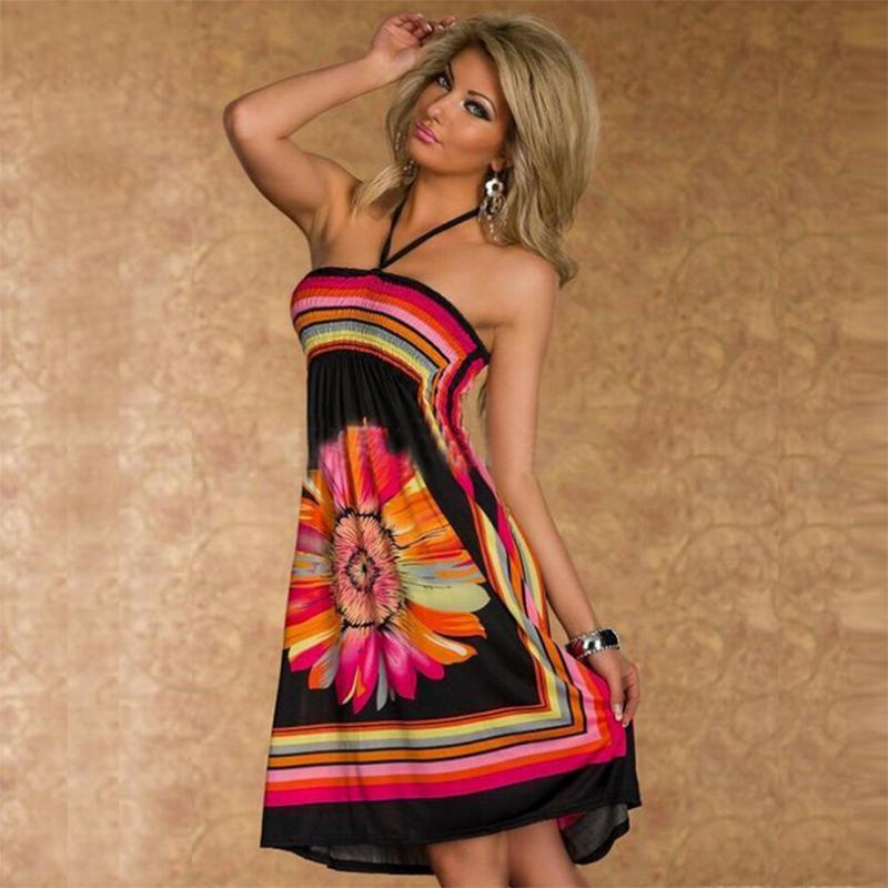 2016 Summer Dress Beach Dress Plus Size Vestido Women Dress Long