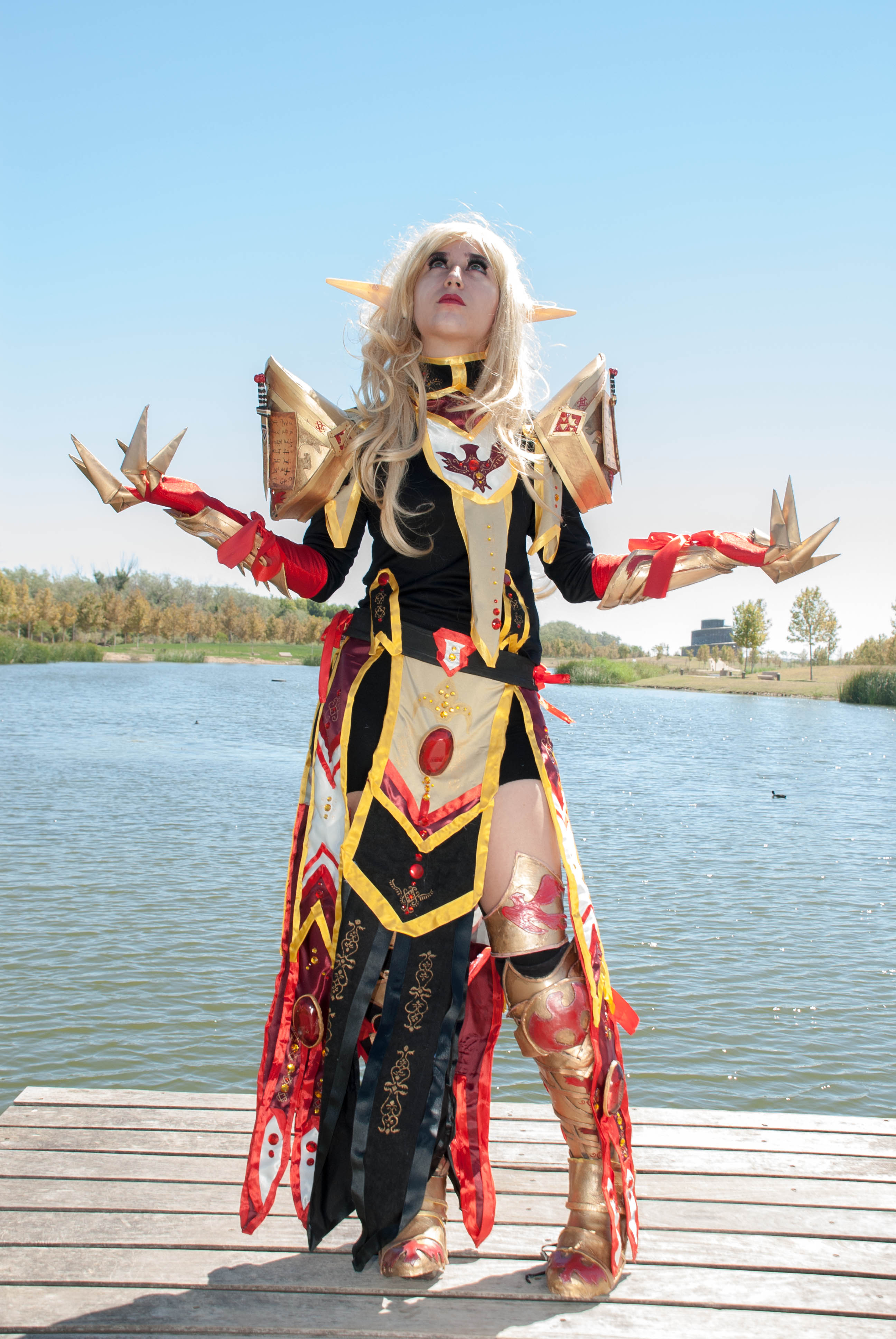 Print: Blood elf tier (Wow) from Lady Devilrose cosplay