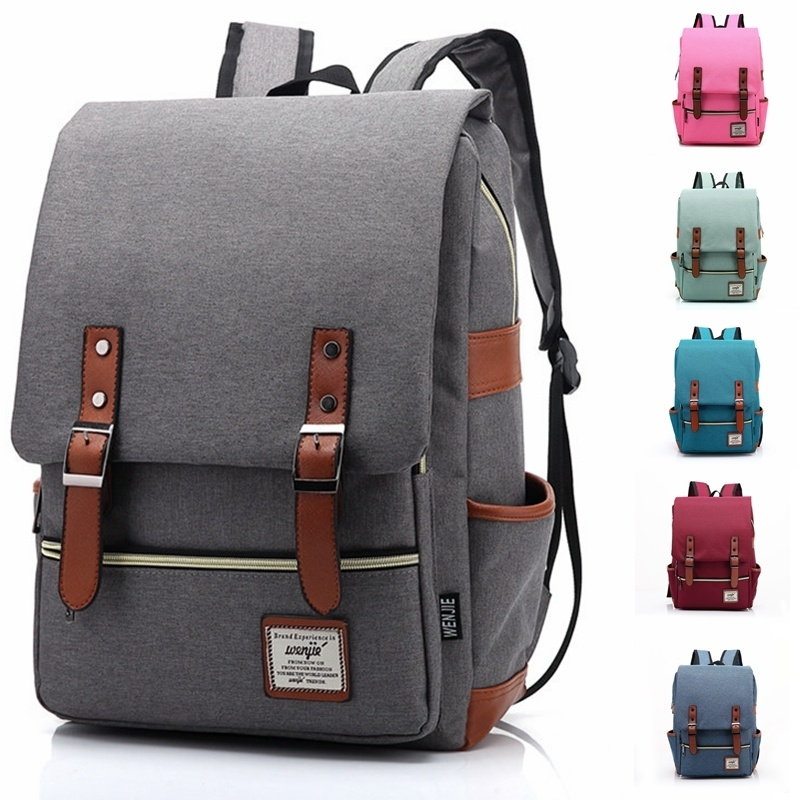 Fashion Men Women Unisex Vintage Casual Canvas Backpack Lovers Travel Bags  Satchel School Bags on Storenvy 1255752c9b1f8