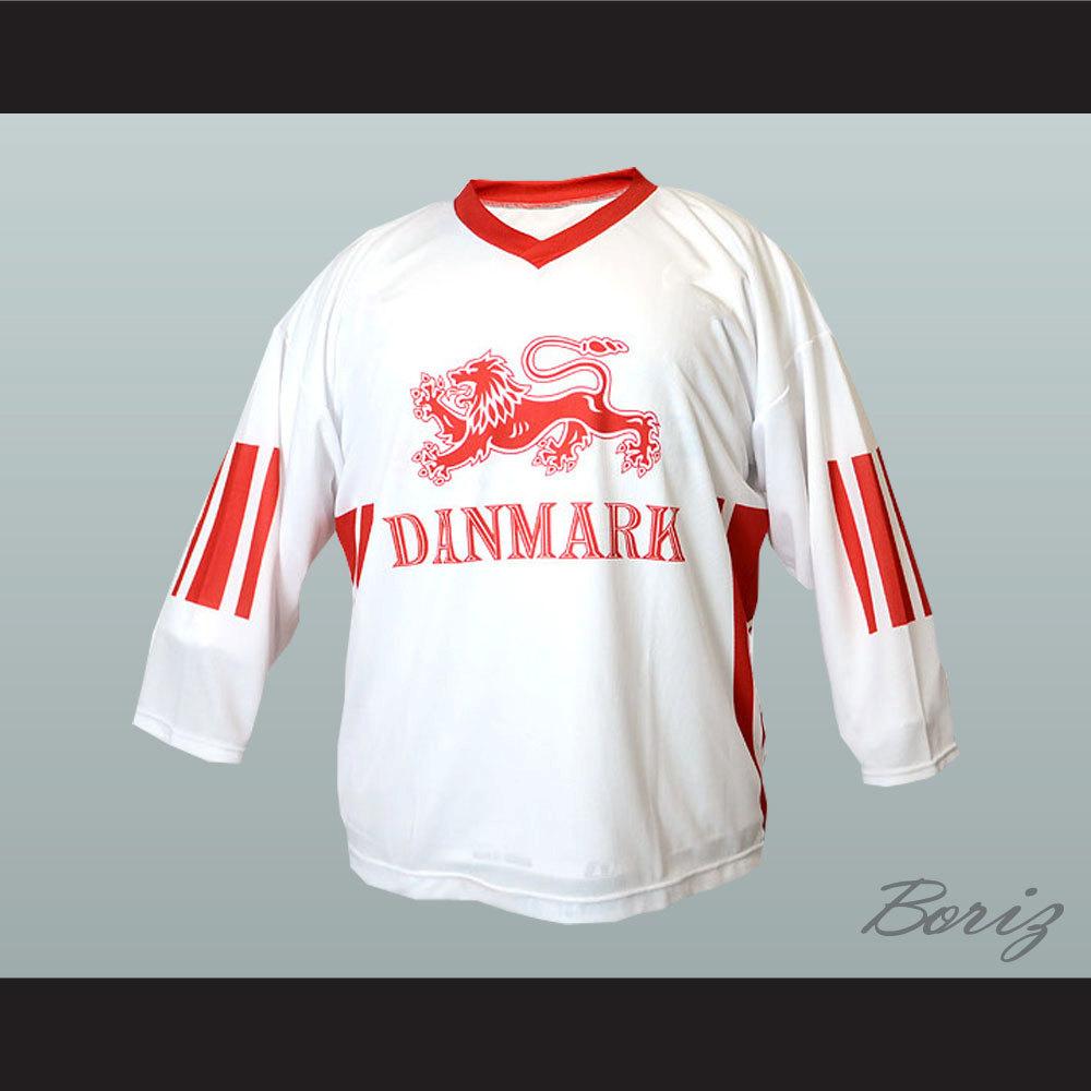 the best attitude 388b8 22b31 Denmark National Team Jesper Damgaard Hockey Jersey NEW Stitch Sewn Online  Tracking from acbestseller