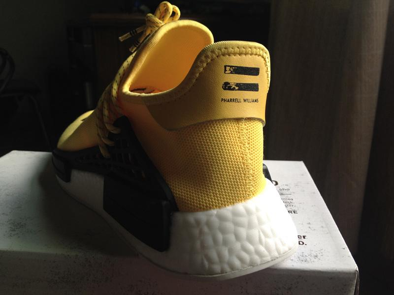 premium selection b7c87 21d1c Authentic UA Adidas NMD Human Race- Yellow/Black sold by FWU Sneaker Supply