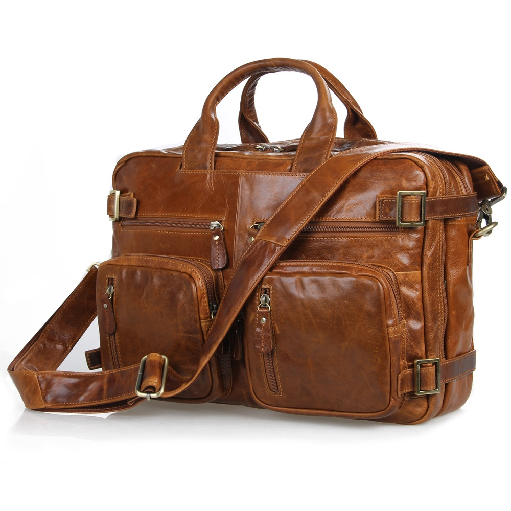 332d27e82 Multi-functional Leather Briefcase Backpack Business Travel Tote Messenger  iPad Bag--FREE SHIPPING on Storenvy