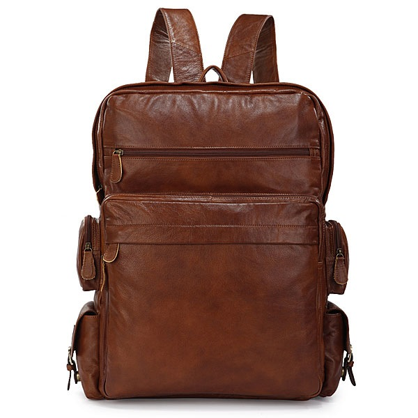Classic Cowhide Go Hiking Backpack SUPER LARGE Travel Tote Laptop Bag--FREE  SHIPPING on Storenvy e72fd5d109