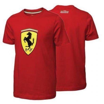 c34d27cf4ae75 Tee shirt enfant ferrari cl rouge original