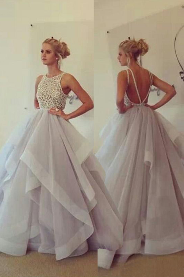 Elegant_Prom_Dress_Unique_Backless_Scoop_Sleeveless_Champagne_Tulle_A-line_Prom_Party_Dress_with_Sweep_Train