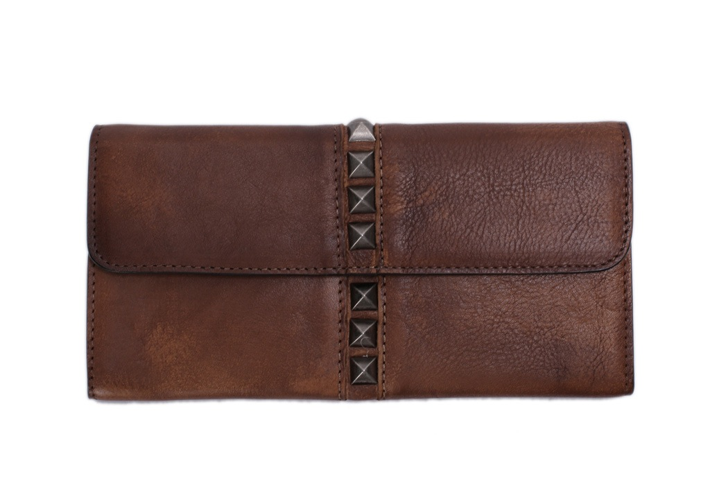 Vintage Style Genuine Natural Leather Wallet/ Long Purse/ Money Wallet 9057 (51636896) photo