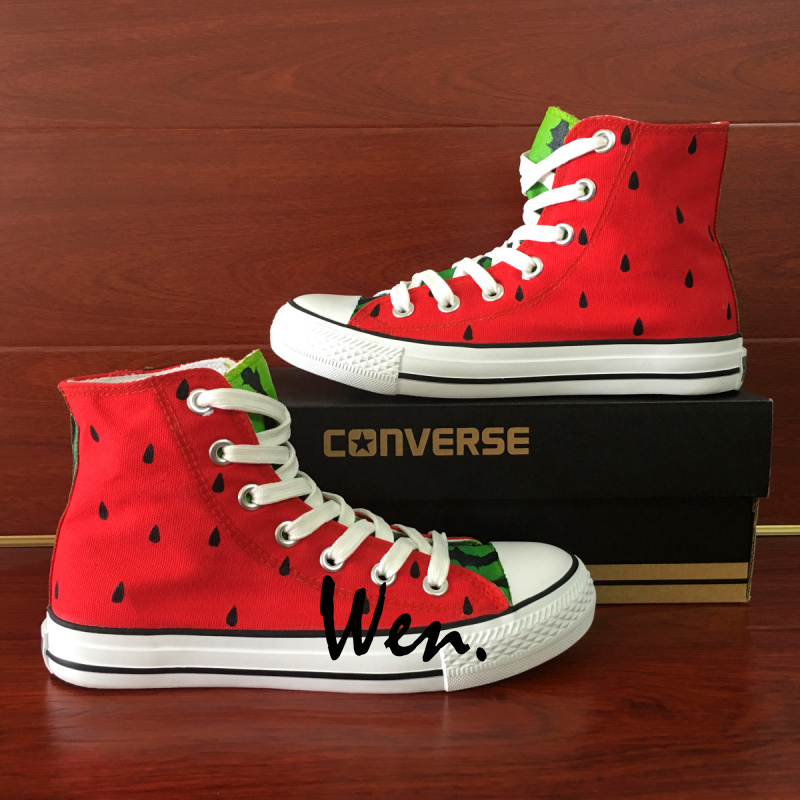 8288c2fbe561 Wen Hand Painted Shoes Custom Converse All Star Canvas Sneakers ...