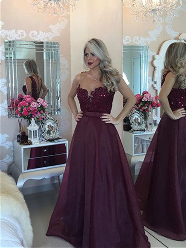 0fd16d68d93 Red prom dress