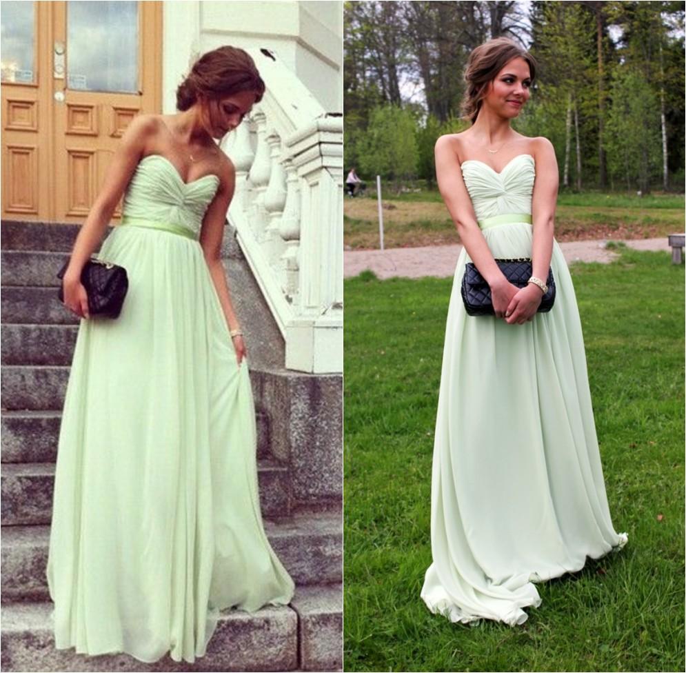 Long Prom Dresses,Green Prom Dresses,Women Summer Dresses,Long ...