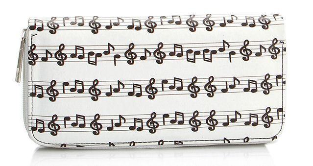 Music Notes Clutch - Purse (52427191) photo