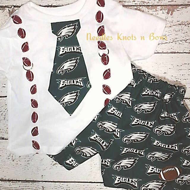 cheap for discount 6e545 d55da Girls Philadelphia Eagles Coming Home Outfit, Eagles Cheerleader Outfit,  Newborn, Toddler, Girls Eagles Football Outfit from Needles Knots n Bows