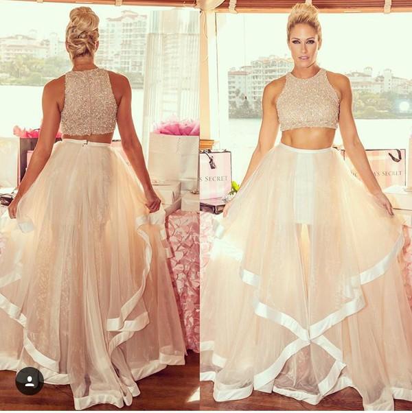 d33163f2c59 Champagne prom dress