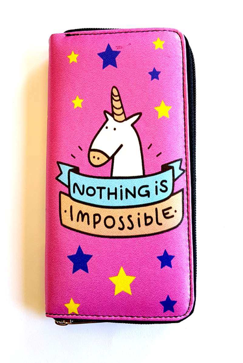 Unicorn Nothing is Impossible Clutch - Purse (54104278) photo