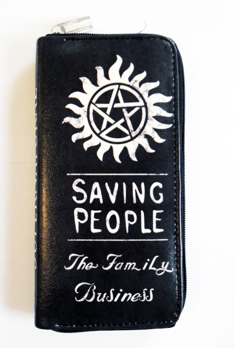 Supernatural Saving People Family Business Clutch - Purse (54105541) photo