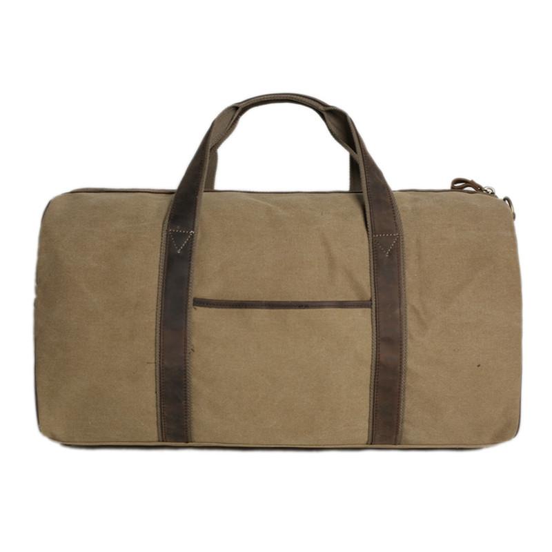 d3dfc2b33dd5 Waxed Canvas Duffle Bag  Travel Bag  Holdall Luggage Bag Overnight Bag 9019