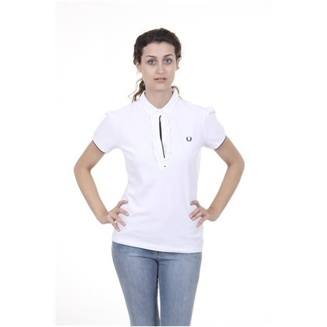 Red Perry Womens Polo