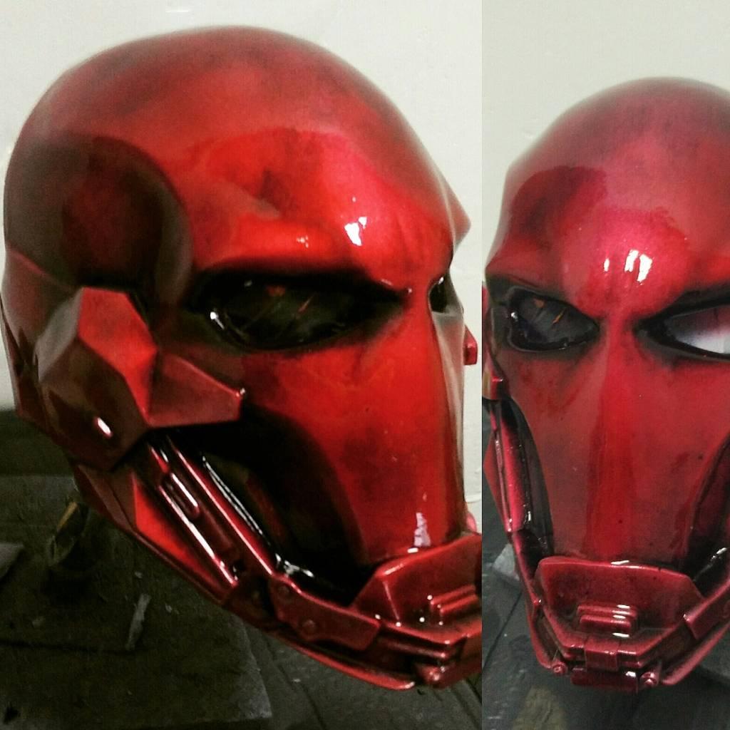 Red Hood Custom Helmet On Storenvy