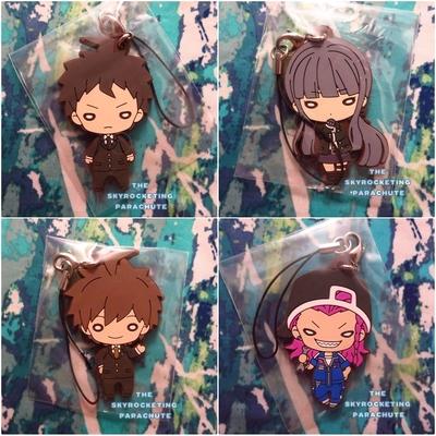 Super Danganronpa 2 figure strap Tanaka Gundam Nanami Chiaki Hiyoko Hinata Mono