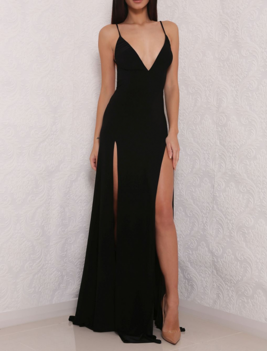 High Slit Prom Dresses