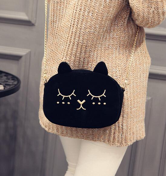 Cute Cat Chain Bag