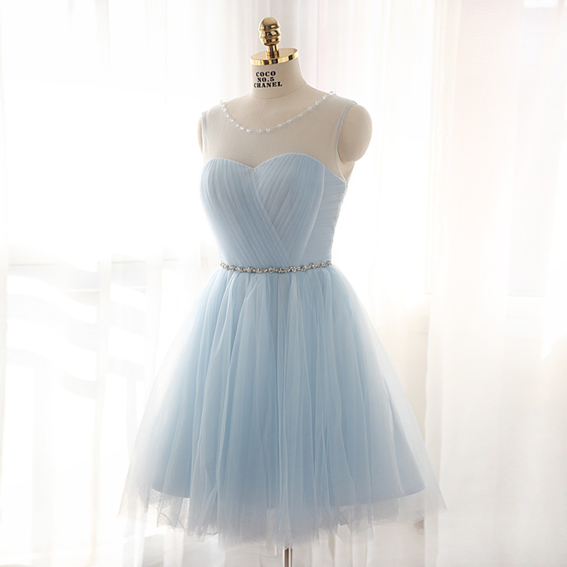 297da75cd6f0 Charming A-line tulle short prom dress,homecoming dresses on Storenvy