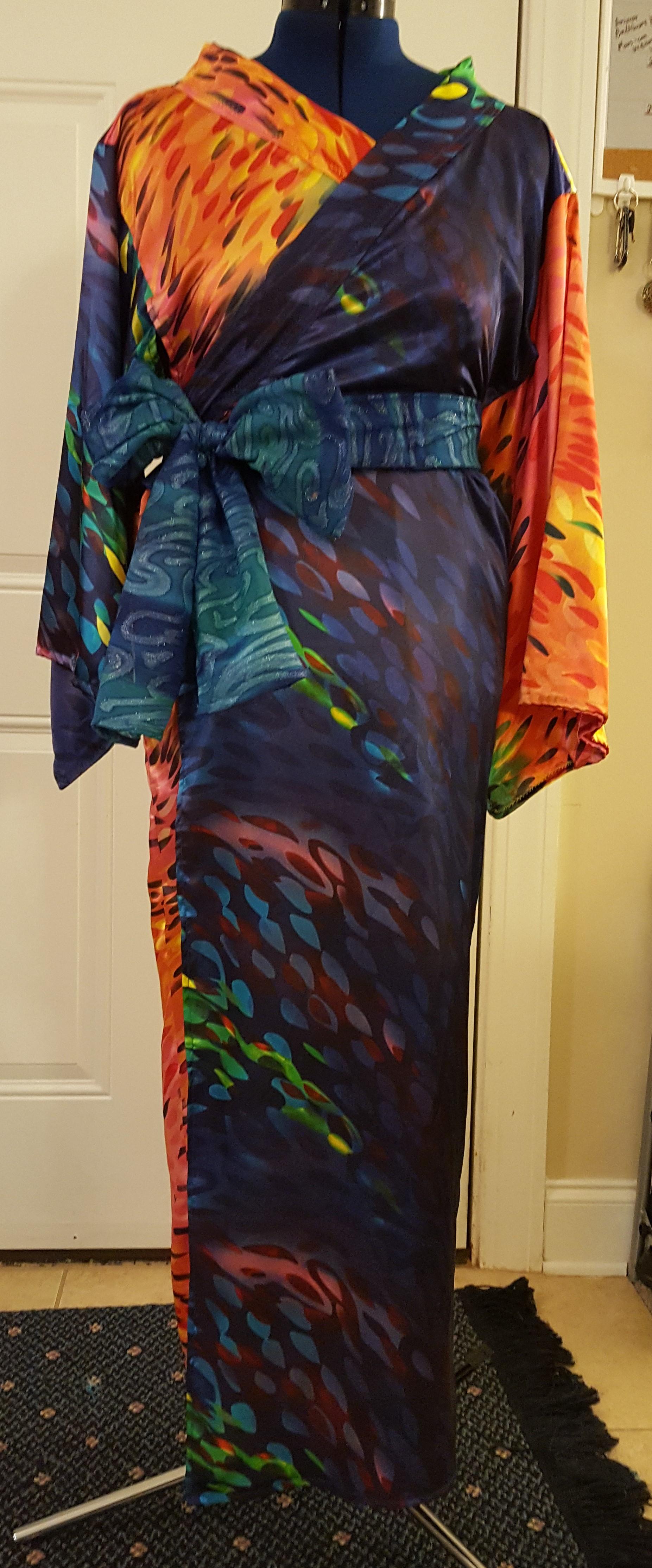6a55b17e8a Swirl of Color Yukata - Small · Sakura Sisters · Online Store ...