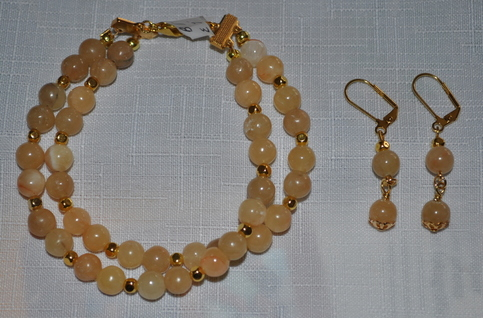Honey Jade Bracelet Set