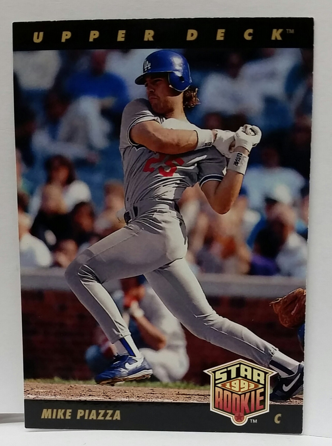 1993 Upper Deck Mike Piazza Rookie Card Card 2 Graded As A 92 Mint
