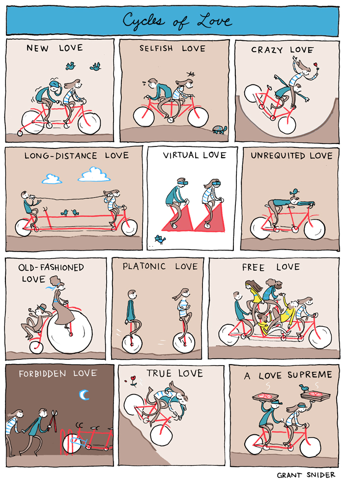 Cycles Of Love Poster Incidental Comics Online Store Powered By
