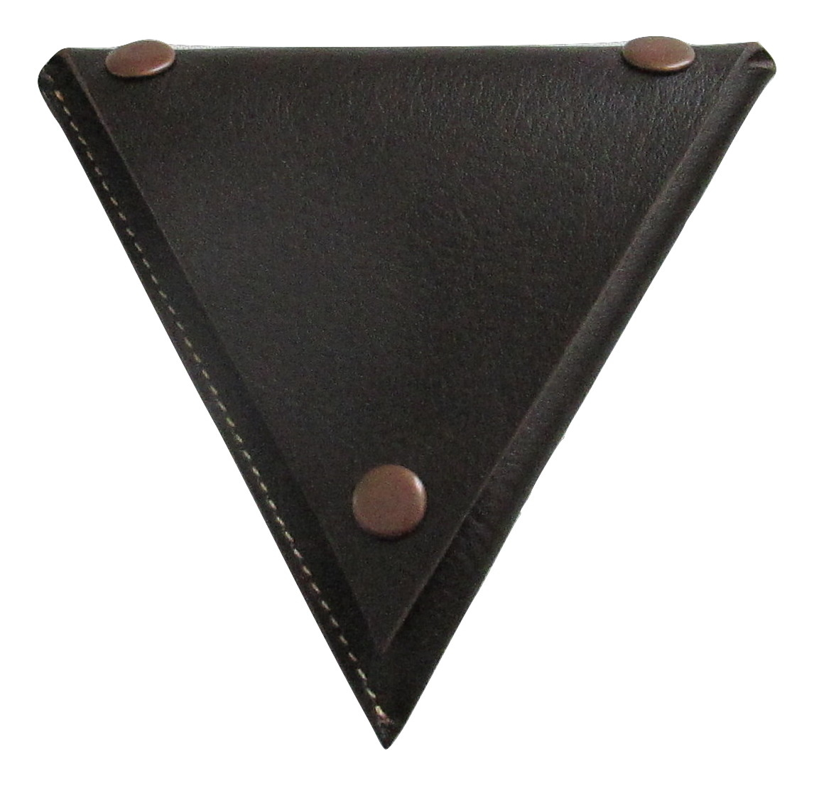 Image of 100% Genuine Leather Coin Purse in Brown