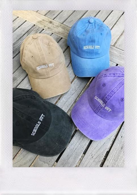 6348349bc6b URBAN STRANGERS DISTRESSED HAT- SCHOOLS OUT
