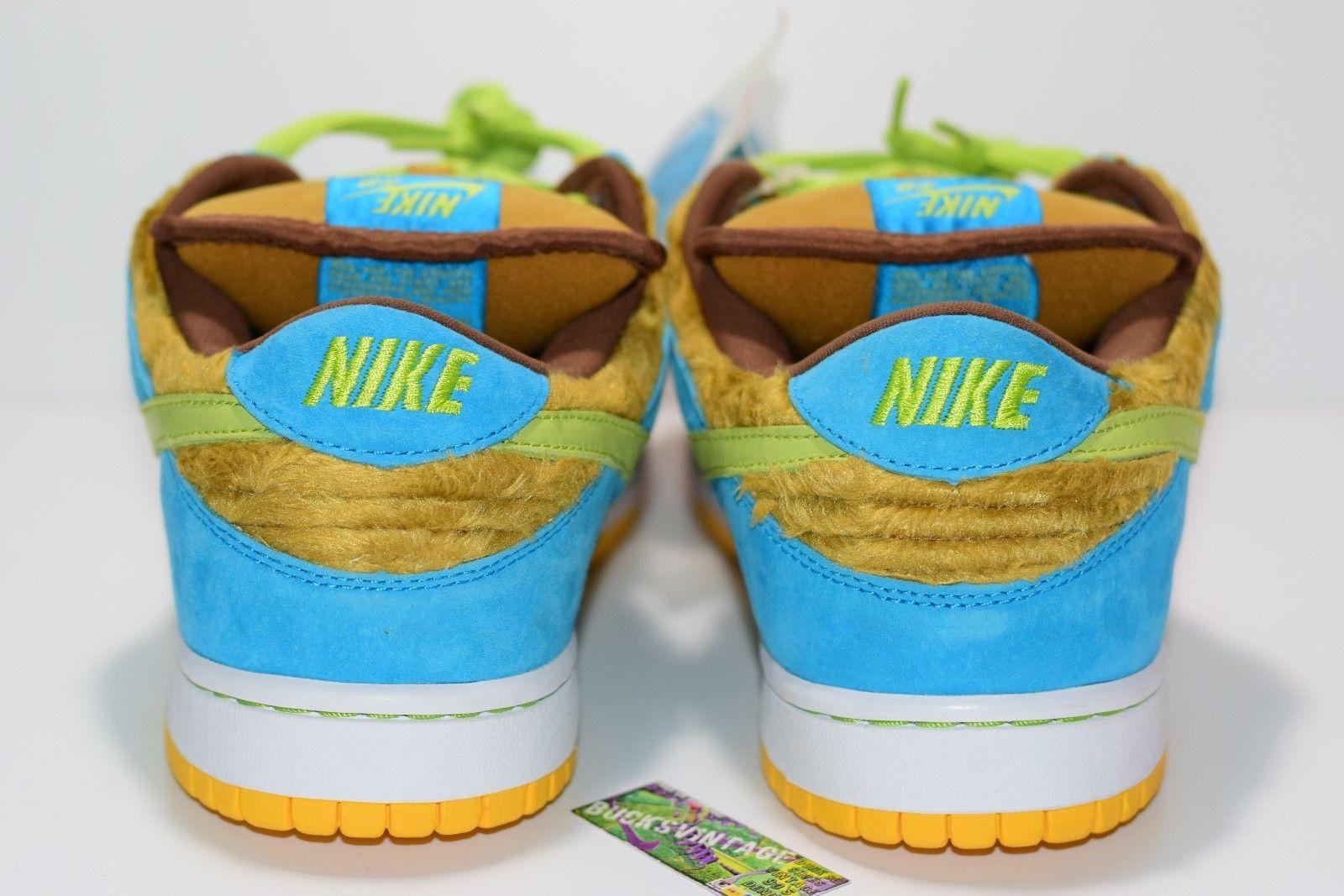 factory price 340af 78dd3 ... Size 11  DS 2006 Nike Dunk Sb BABY BEAR 313170 731 light  umbergrasshopper