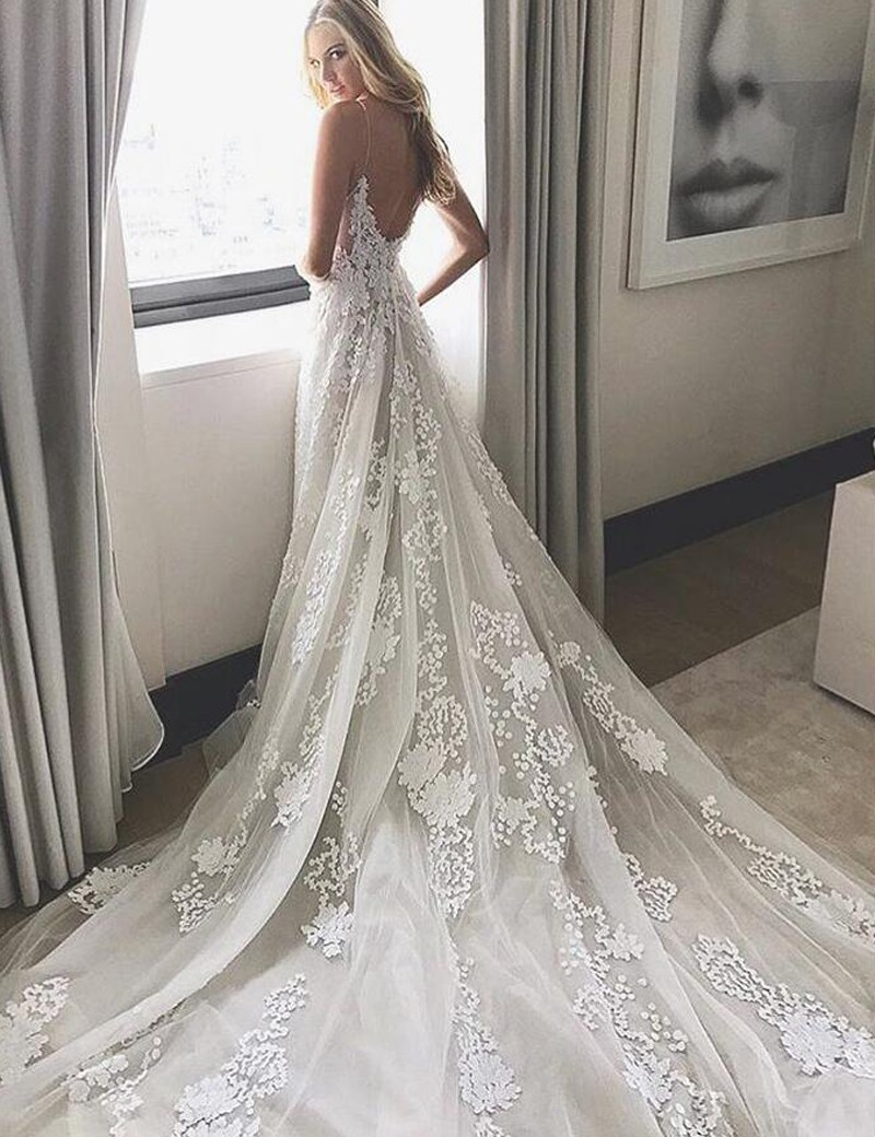 F313 2017 Wedding Dress White Lace Long Wedding Dress Bridal Gown Fashion Lady Dress Online Store Powered By Storenvy