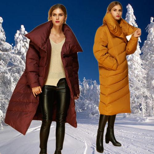 Womens Winter/spring/ Autumn Outwear Top Standup Collar Overcoat Parka Jacket Xl