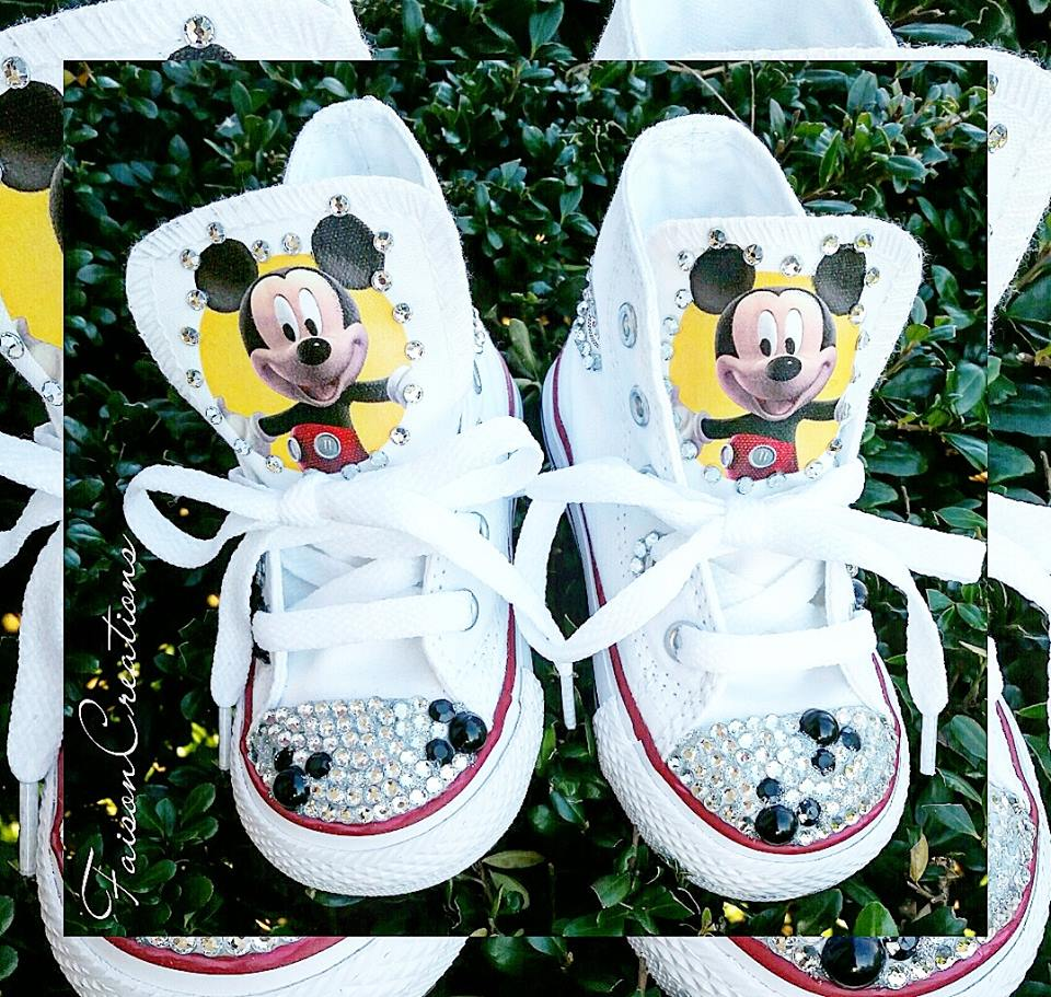 06b67f5126a Toddler Custom Mickey Mouse Converse Size 2 - 10 · FaisonCreations ...