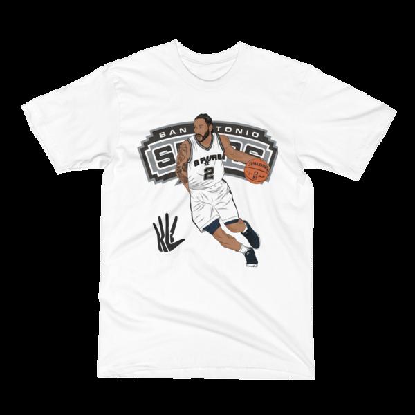 Image of Kawhi Ball Up Spurs T-Shirt
