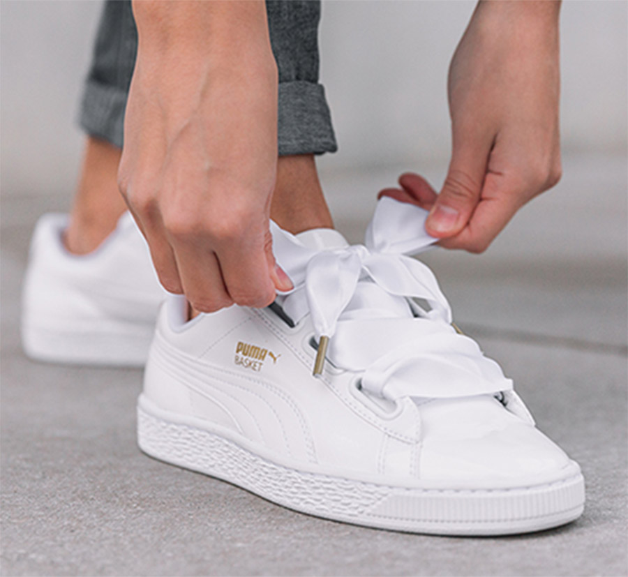 White Basket Heart Patent Leather Sneaker on Storenvy c14ff5497