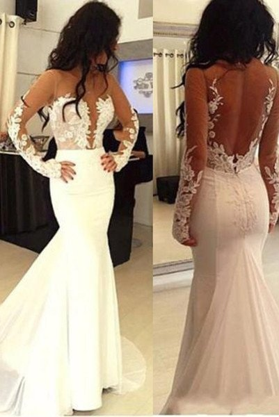 Sexy Mermaid Prom Dresses,Hot Sale Prom
