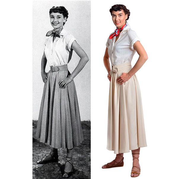 Audrey Hepburn-the Complete Roman Holiday Costume Set on Storenvy 0a932ad90