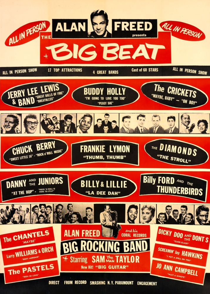Image result for buddy holly concert posters
