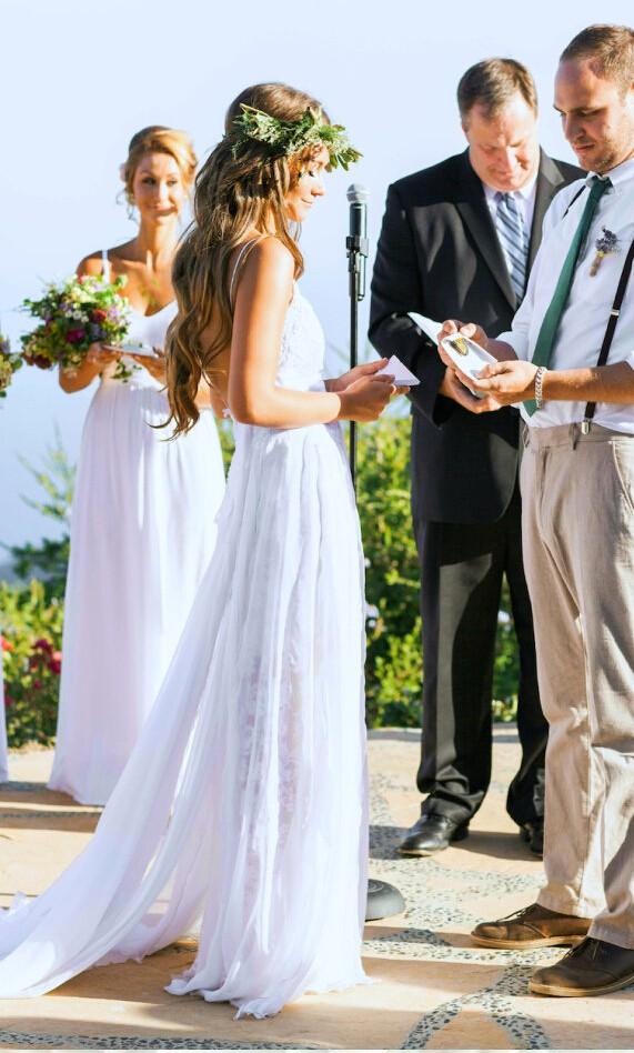 Beach Wedding Dress Summer Outdoor Bridal Gown Spaghetti Bridal Dress Vestido De Noiva Custom Size Made Plus Size Wedding Dress From Bettybridal