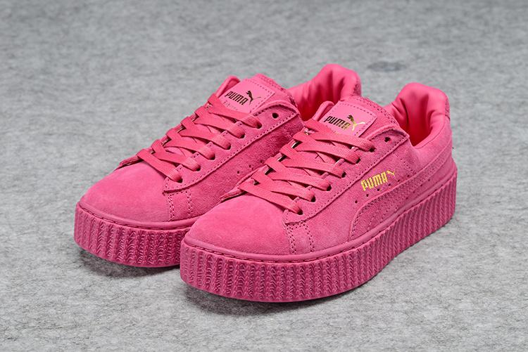 puma creepers pink