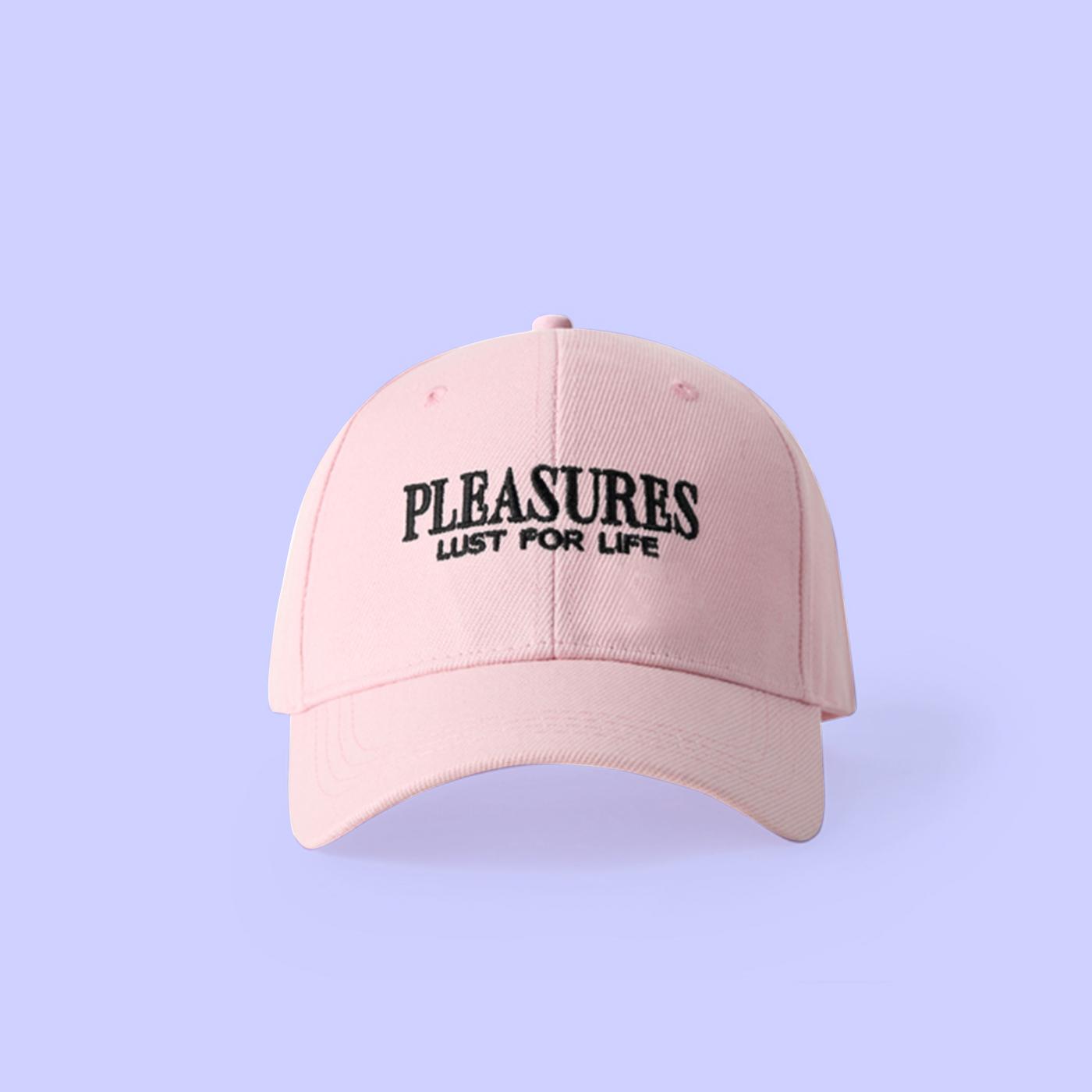 78406dea564 VAPORWAVE PLEASURES LUST FOR LIFE BASEBALL CAP IN PINK · CYBEROTAKU ...