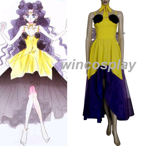 Sailor Moon Luna Human Form Cosplay Costume On Storenvy