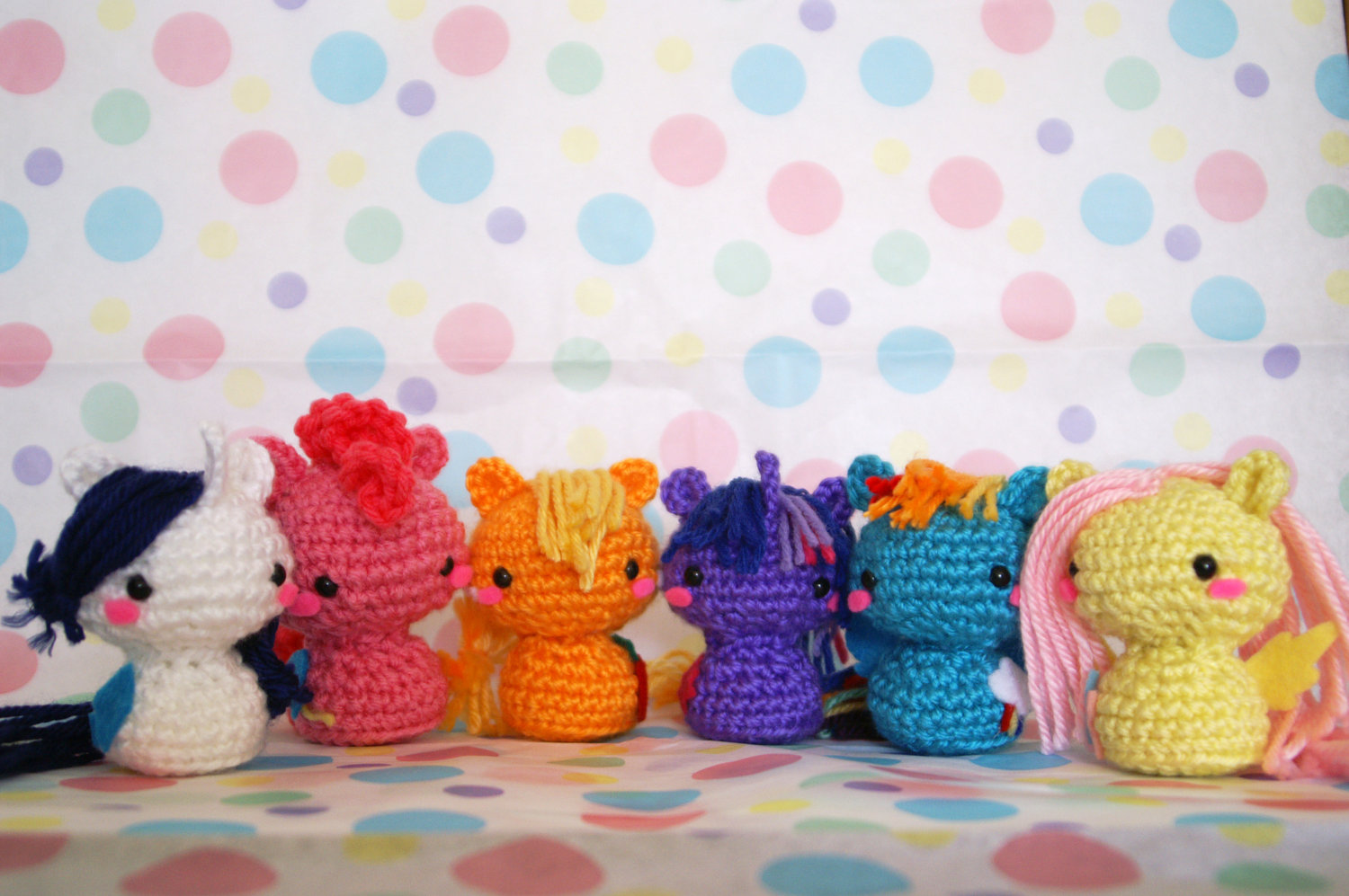 All Crochet My Little Pony Characters Amigurumi Toy On Storenvy