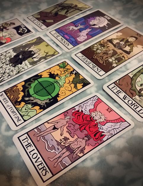 Metal Gear Tarot Card Set On Storenvy