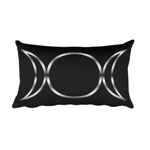 Pagan Triple Goddess Symbol Rectangular Pillow On Storenvy