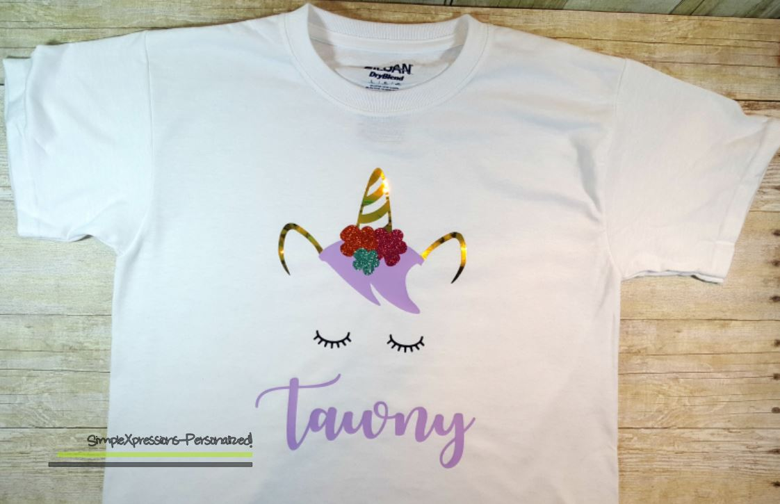 a727e3b36 Personalized Unicorn T shirt | Youth T shirt on Storenvy